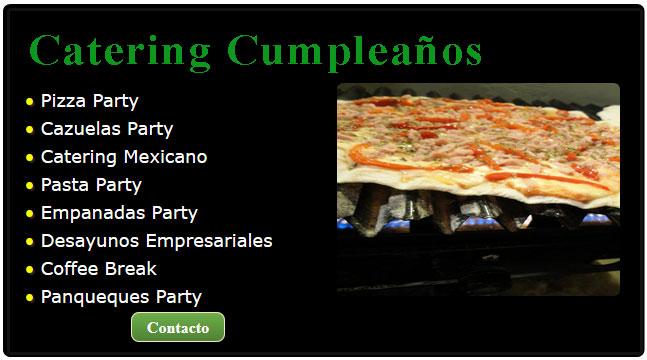 catering precios, catering pizza, catering pizza party, comidas para cumpleaños infantiles, catering cumpleaños, comida para fiesta de cumpleaños, catering zona oeste, servicios de catering para eventos,