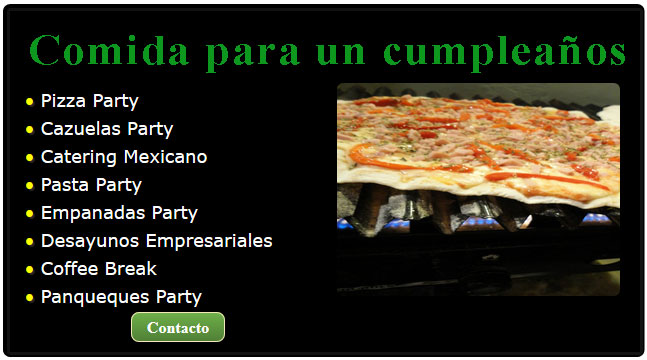 comida para cumpleaños, catering cumpleaños, comida de cumpleaños para adultos, comida para fiestas de cumpleaños adultos, pizza cumpleaños, comida para cumpleanos, catering cumpleaños infantiles,
