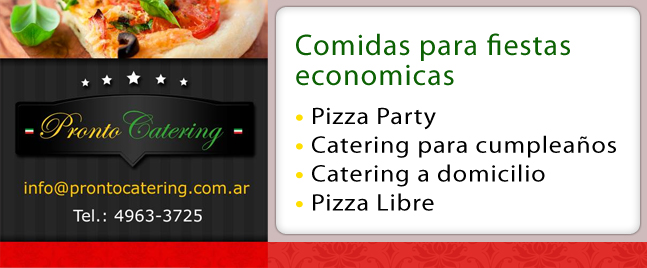 comidas sencillas para fiestas, comidas para fiestas de niños, menu para fiestas, pizza party precios, pizza party a domicilio, pizza party zona norte